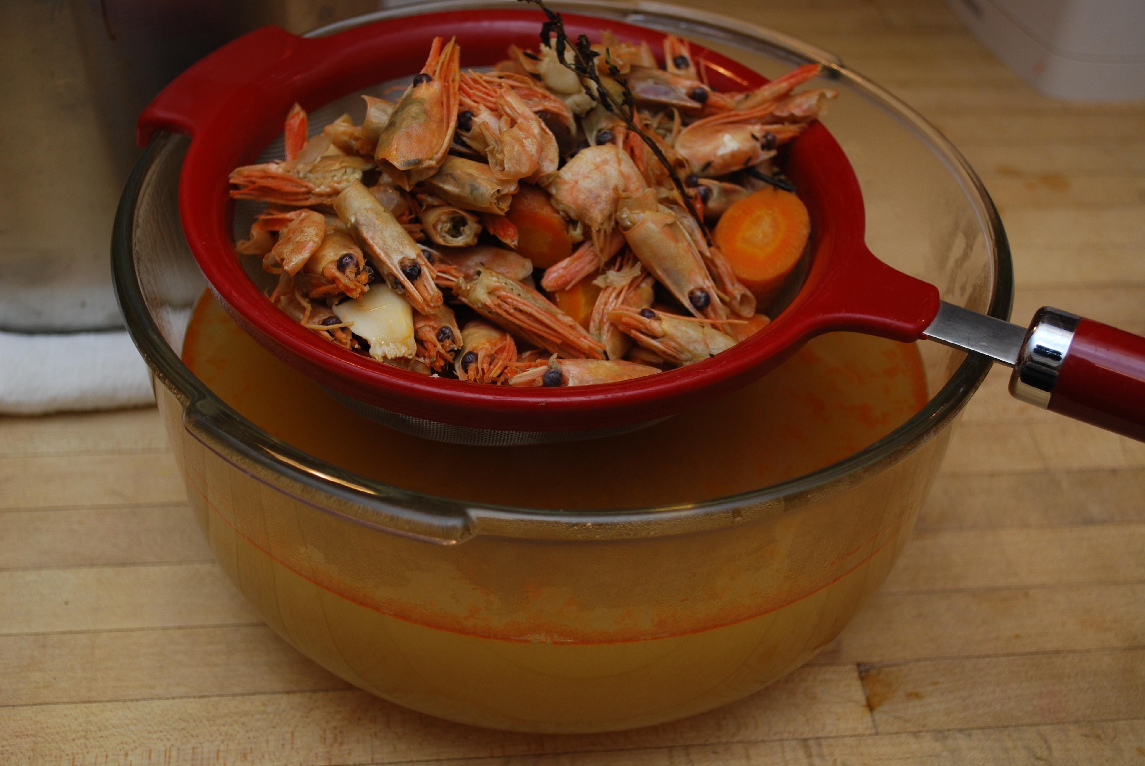 STOCKing Up – Shrimp Stock   100 First Tastes